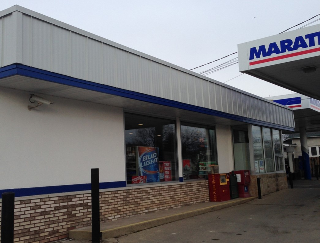 Marathon gas station | commercial build out | Neiderquill Contracting Saginaw MI